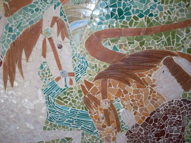 Pannelli decorativi rossi giampiero for Mosaico ceramica