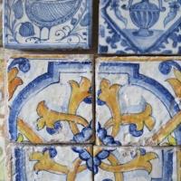 Particolare mattonelle in ceramica