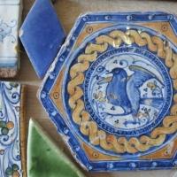 Mattonella esagonale ceramica