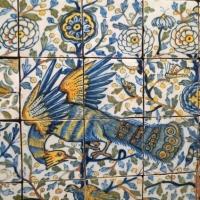 Pannello decorativo pavone