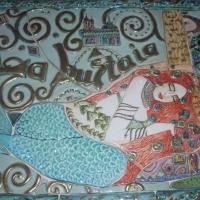 Sirenetta pannello in ceramica