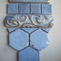 Mattonelle esagonali in ceramica