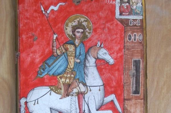 Ceramica S.Giorgio dipinta a mano